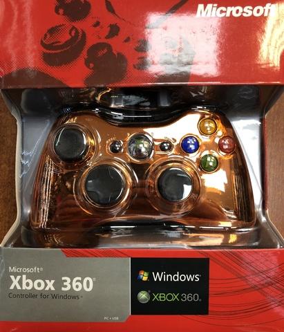 Проводной контроллер (Xbox 360, Chrome Сopper)