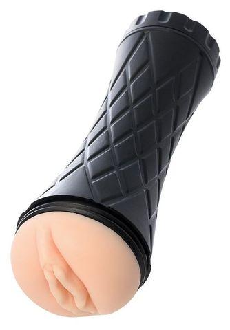 Телесный мастурбатор-вагина A-Toys в колбе