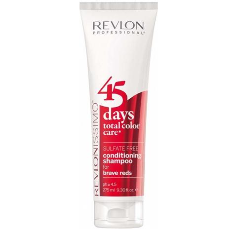 Revlon Revlonissimo Color Care: Шампунь-кондиционер для ярких красных оттенков волос (Shampoo & Conditioner Brave Reds), 275мл