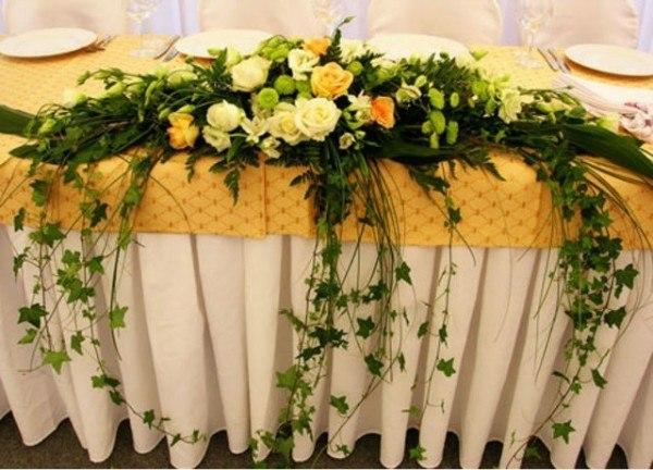 Желтая роза в композиции, плющ от 25 000 тг Алматы