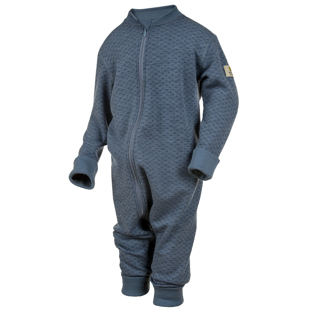 Janus, Комбинезон на молнии Baby wool, синий