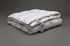 Одеяло пуховое кассетное всесезонное 200x220 «Gray Familie Down»
