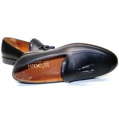 Классические мужские туфли Ikoc BlacK-1