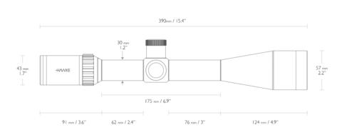 Оптический прицел Hawke Vantage 30 WA SF 6-24x50 (1/2 Mil Dot, 10x) IR