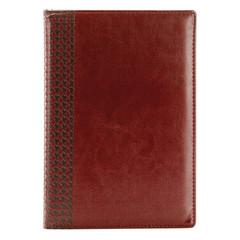 Ежедневник недатированный InFolio Lozanna искусственная кожа А5 160 листов коричневый (140х200 мм)
