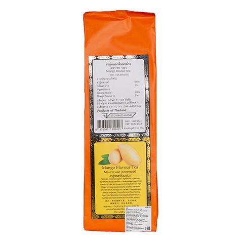 Зелёный чай со вкусом Манго. 100 гр.