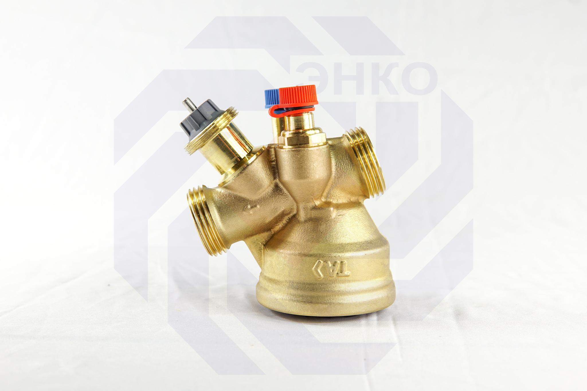Клапан балансировочный и регулирующий IMI TA-COMPACT-P DN 20
