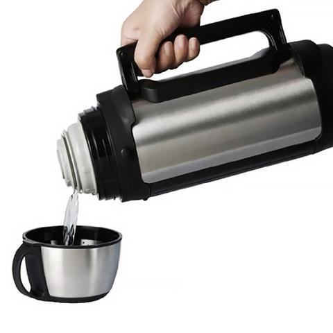 Термос универсальный (для еды и напитков) Tiger MHK-A (1,65 литра), серебристый