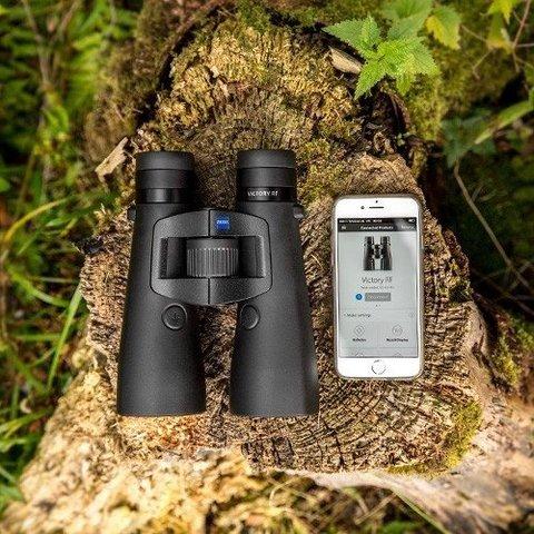 Бинокль-дальномер Carl Zeiss Victory RF 10x42 Bluetooth