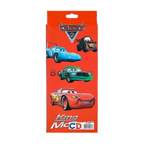Детский канцелярский набор CARS ИЗ 5 ПРЕДМЕТОВ