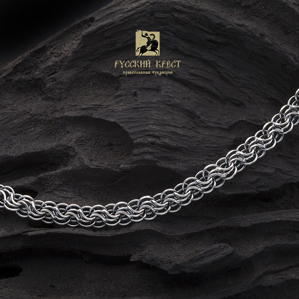 мужские цепи из серебра на шею