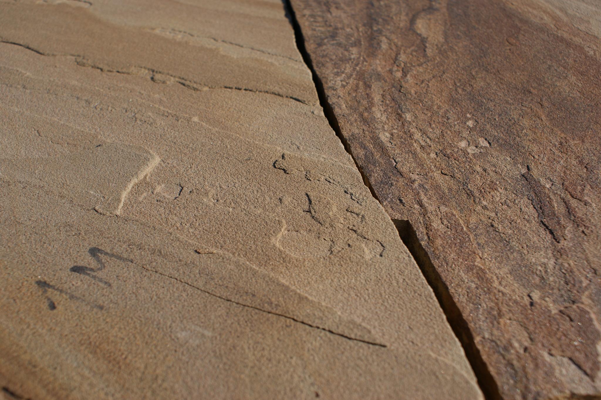 Песчаник плитняк Болотный для мощения