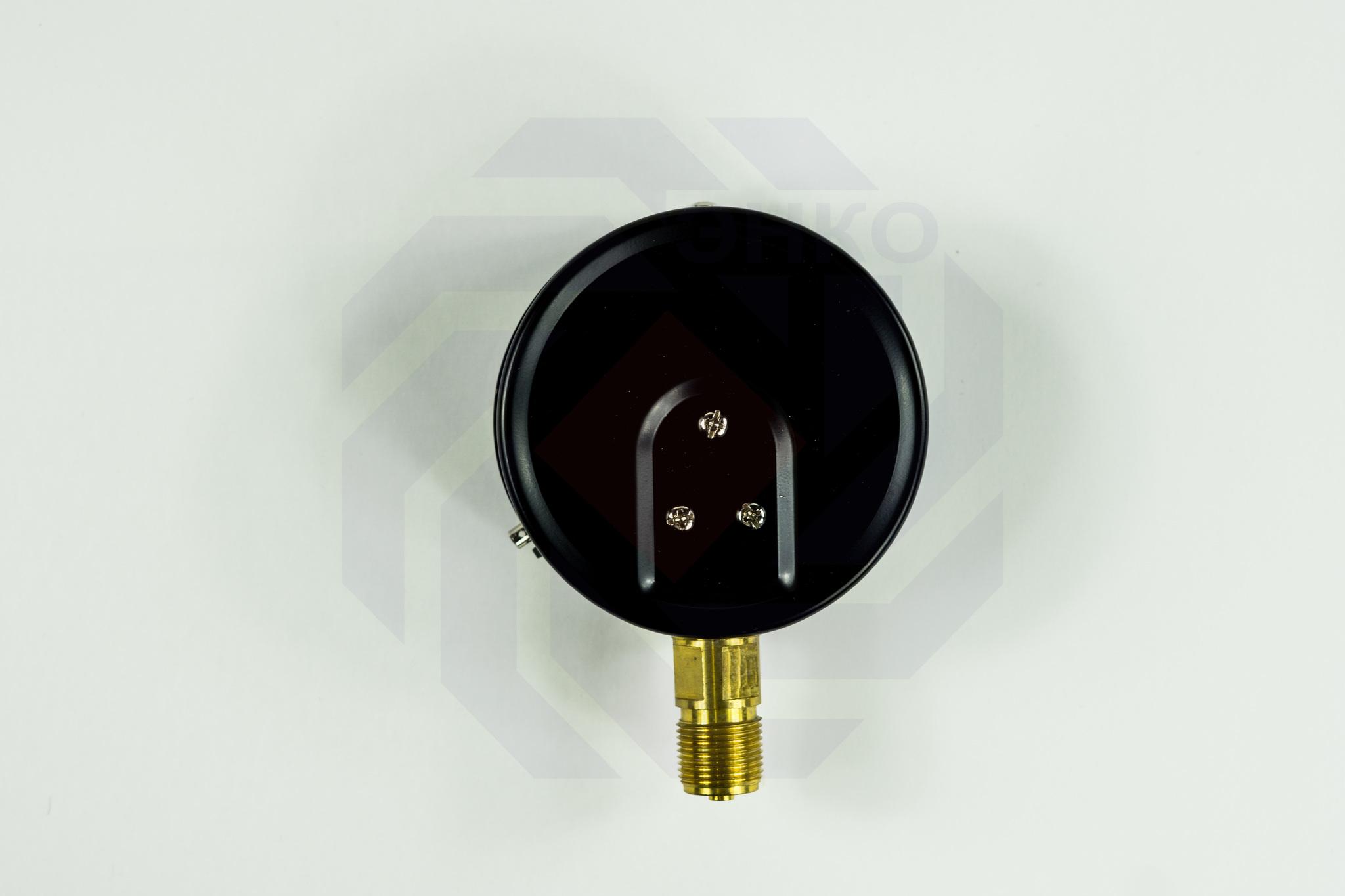 Манометр радиальный ЮМАС МП100М 0-2,5 МПа 100 мм M20⨯1,5