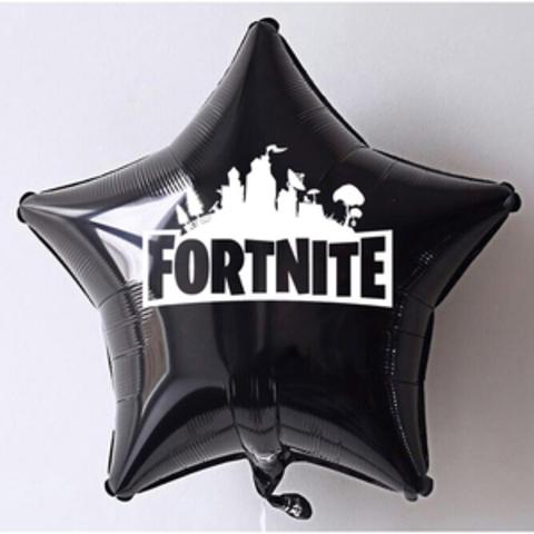 Большая фольгированная звезда Fortnite