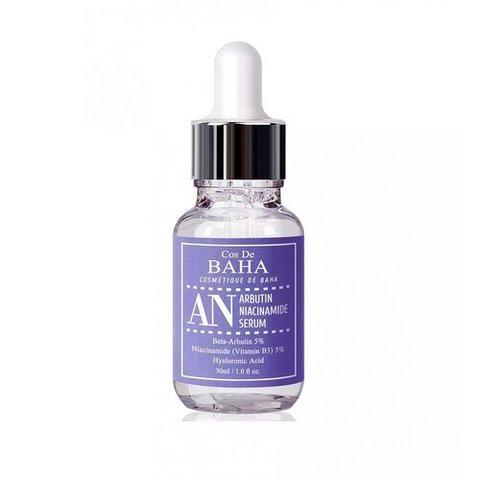 Cos De BAHA Сыворотка против пигментации - Arbutin+niacinamide serum, 30мл