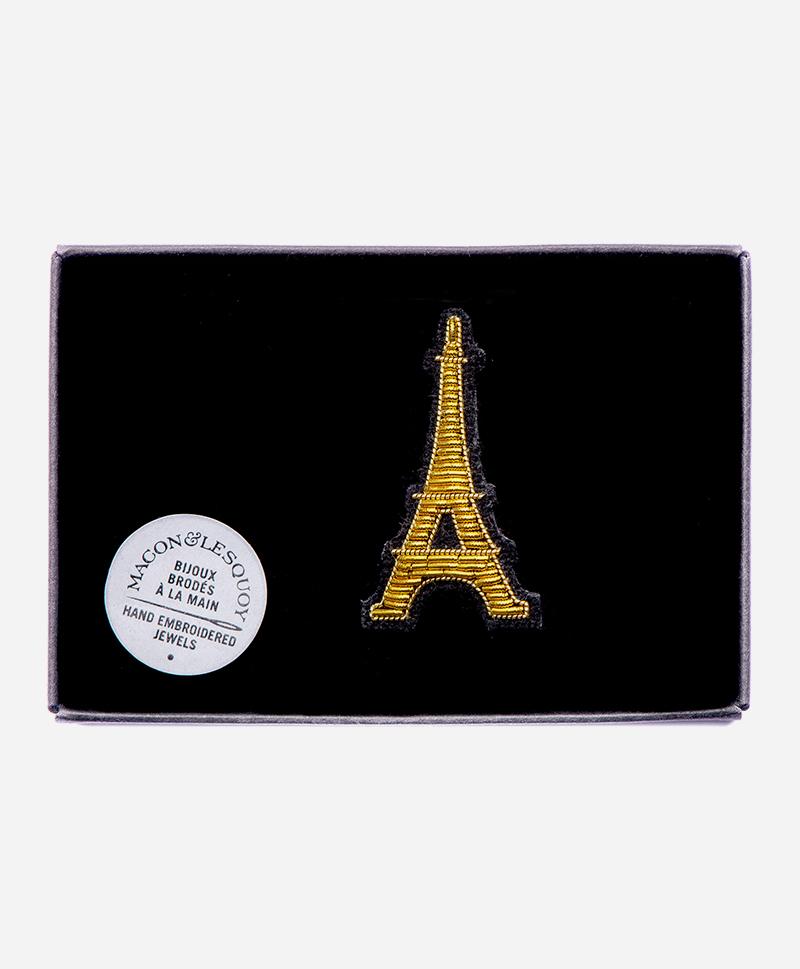 Брошь Eiffel tower