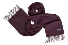 Шерстяной шарф фиолетовый 00808