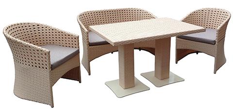 Комплект Женева зі столом Монако