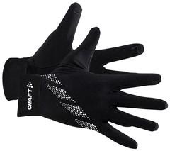 Флисовые перчатки для бега Craft Core Essence Thermal Glove Black