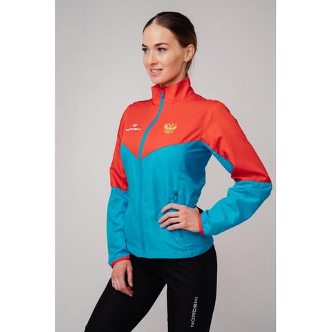 Ветровка Nordski Sport Red/Blue женская