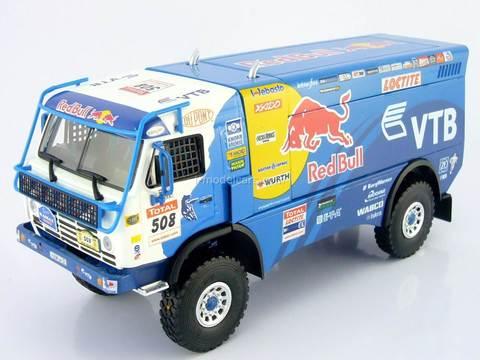 KAMAZ-4326 Race Truck Master Rally Argentina-Chile Dakar 2009 # 508 Eligor 1:43