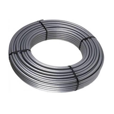 Труба из сшитого полиэтилена STOUT Стабильная - 20x2.9 (PE-Xc/AL/PE-Хс, PN10, Tmax 90°С, бухта 100м)