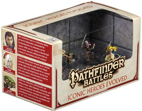 Pathfinder Battles: Iconic Heroes Evolved Booster