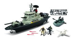 Chap Mei Игровой набор: Ураганный линкор, с ракетами (свет, звук) (545065)