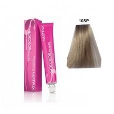 Matrix SOCOLOR.beauty: Silver Pearl 10Sp очень-очень светлый блондин серебристый жемчужный, краска стойкая для волос (перманентная), 90мл
