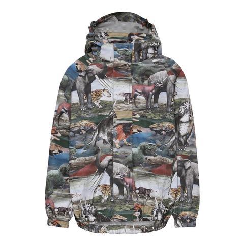 Molo Waiton Ancient Animals куртка - ветровка для мальчика