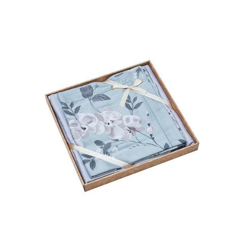 Комплект простыни без резинки 240х260  ТЕНСЕЛЬ 1445 ASABELLA Италия.