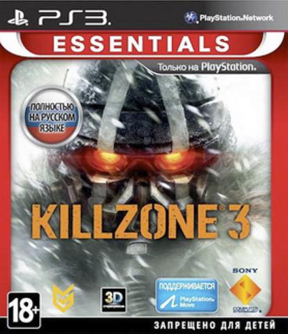 Killzone 3 (PS3, с поддержкой PS Move, 3D, русская версия)