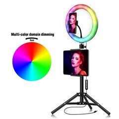 Кольцевая лампа  33 см со штативом Ring Fill Light LED MJ33 RGB
