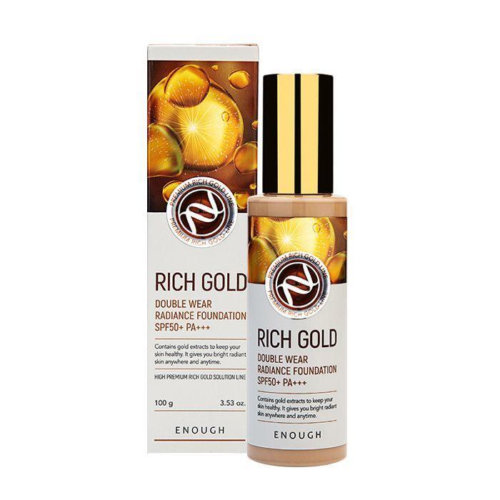 ENOUGH Тональный крем Enough Rich Gold Double Wear Radiance Foundation Spf 50+ Pa+++ #13 13520_0.jpg