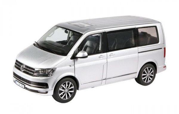 Коллекционная модель Volkswagen Multivan T6 Highline 2016 Silver Metallic