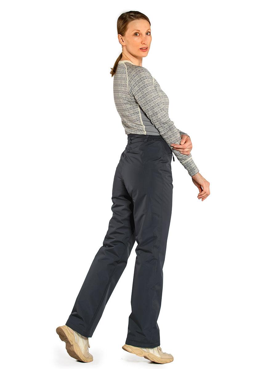 Maritta брюки Lenita цвет антрацит