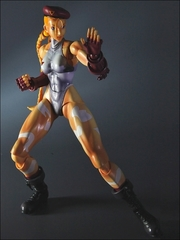 Super Street Fighter IV Play Arts Kai Figure - Cammy White