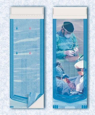 Пакеты (ADV) для стерилизации 9x23 см.; 200 шт.)