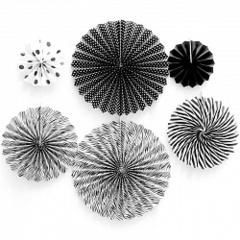 Набор дисков, Черный/Белый, 6шт