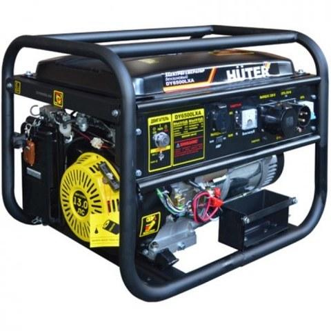 Генератор Huter DY6500LXA электростартер (с АВР)