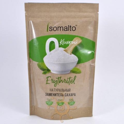 Сахарозаменитель эритрит (эритритол) Isomalto, 500г