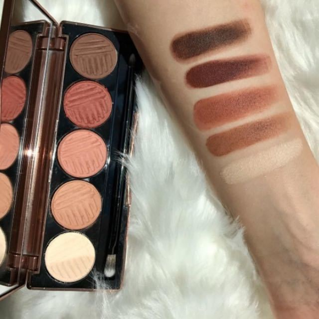 Dose of Colors Baked Browns palette