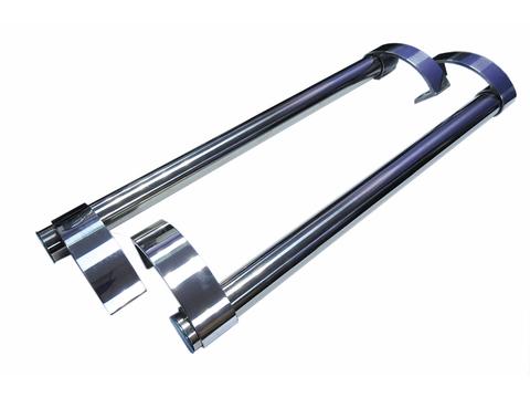 Комплект ручек для пластиковых дверей (офисные ручки, ручки-скобы)