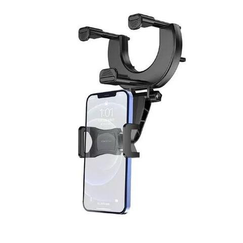 Автомобильный держатель Borofone Rearview mirror BH49 /black/