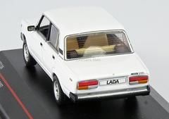VAZ-2107 Lada white 1986 IST136 IST Models 1:43