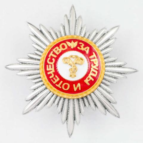 Звезда ордена св.Александра Невского (копия)