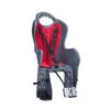 Велокресло для детей HTP ELIBAS T (тёмно-серое), крепление к подседельной трубе