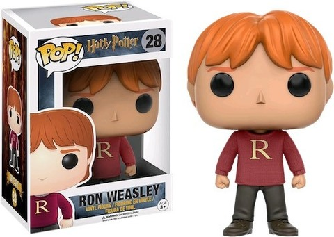 Фигурка Funko POP! Vinyl: Harry Potter: Ron Weasley (Sweater) (Exc) 10996