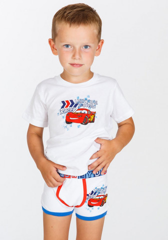 Трусики и футболка для мальчика с Cars