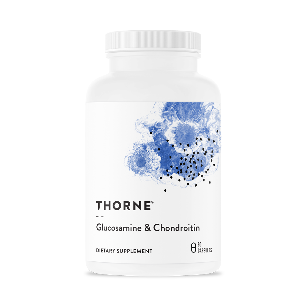 Глюкозамин Хондроитин, Glucosamine & Chondroitin, Thorne Research, 90 капсул